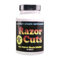 HOT STUFF NUTRITIONALS RAZOR CUTS 90 - Caps Standardized Seed 30 Extract