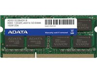 ADATA Premier DDR3 1333MHz 2GB Memory Modules (AD3S1333C2G9-R)