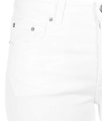 Department Mujer Jeans Algodon Five D18d53t1820ve001 Blanco pSBwY5gqS
