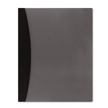 GBC Hidden Swing Clip Report Cover, Letter Size, Black (W21533)