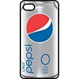 Diet Pepsi Zero Soda Can Black Plastic Case for Apple iPhone 4 or iPhone 4s