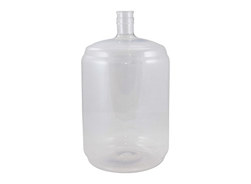 Plastic Carboy - 5 Gallon - Vintage Shop (Solid) by Homebrewers Outpost