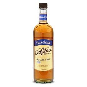 DaVinci SUGAR FREE Hazelnut Syrup w/ Splenda 750 mL by DaVinci Gourmet
