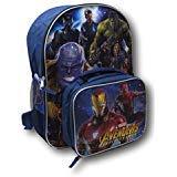Marvel Avengers Infinity War Backpack W/ Detachable Lunch Box