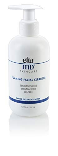 EltaMD Foaming Facial Cleanser, Gentle, Oil-free, Paraben-free, Dermatologist-Recommended Enzyme and Amino Acid Face Wash 7.0 oz