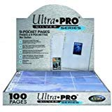 (Ultra Pro 9-Pocket Silver Series Pages for Standard Size Cards (50-Pack))