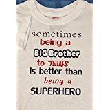 Big Brother of Twins T- Shirt (Small Youth)