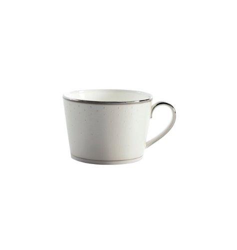 Waterford Platinum Espresso Cups - Waterford Wedgwood Monique Lhuillier Pointe D'Esprit 8 oz. Teacup