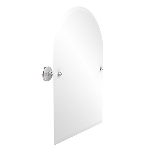 Allied Brass PMC-94-PC Frameless Arched Top Tilt Mirror with Beveled Edge, Polished Chrome ()