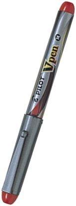 Pilot V Pen (Varsity) Disposable Fountain Pens, Black,Blue,Red Ink, Medium Point Value Set of 3(With Our Shop Original Product Description)