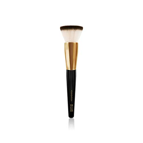 Milani Lightweight Foundation - Milani Foundation Brush - Cruelty-Free Face Brush to Apply Powder, Cream & Liquid Foundation - Made with High-Grade Synthetic Bristles