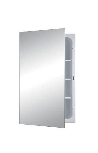 Jensen 1438 Focus Frameless Medicine Cabinet with Polished M