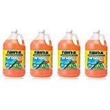 : RainX 5061320 Windshield Washer Fluid 1 Gallon (4 Pack)