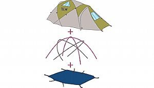 Mountain Hardwear Lightpath 2 Footprint  sc 1 st  Amazon.com & Amazon.com : Mountain Hardwear Lightpath 2 Footprint : Tent ...