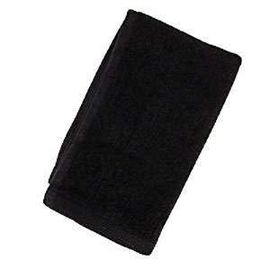 Show Car Guys Black Fingertip Towels 100% Cotton - Terry-Velour_4 Pack 11 x 18