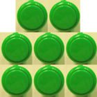 Japan Sanwa 8 Pcs OBSF-30 Green OEM Arcade Push Button (Mad Catz SF4 Tournament Joystick Compatible)