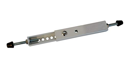 EZ-AC Air-Conditioner Security Window Lock Wedge (Made in the U.S.A.) Extends 7 1/2-14