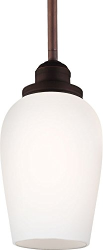 Feiss P1344ORBH Standish Pendant Lighting, 1, Oil-Rubbed Bronze