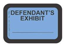 amazoncom legalstore exhibit labels quotdefendant39s With defendant s exhibit stickers