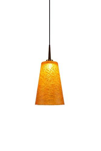 - Bruck Lighting 223174bz/MP - Bling 2 LED Pendant with 4