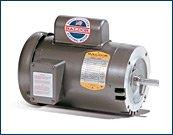 Baldor VL1406T General Purpose AC Motor, Single Phase, 182TC Frame, ODTF Enclosure, 3Hp Output, 3450rpm, 60Hz, 115/230V Voltage by Baldor