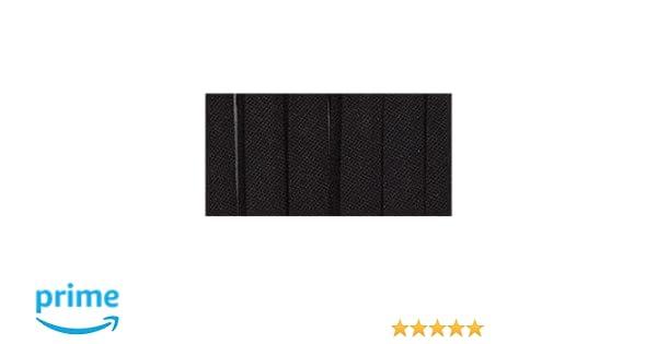 "3Pk Wrights 117-201-031 Double Fold Bias Tape 1//4/""X4yd-Black"