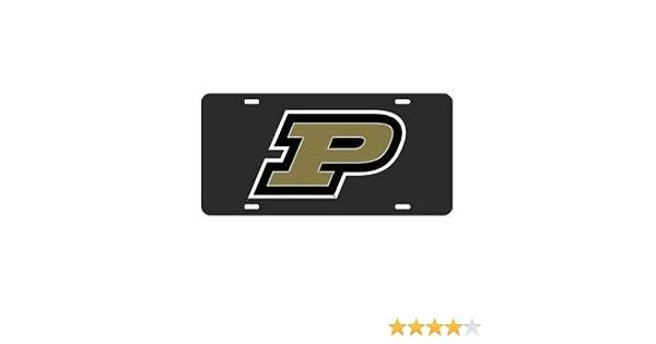 Boilermakers Black License Plate Signs 4 Fun SL429R Purdue Univ