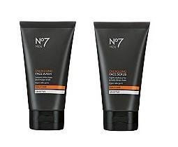 - No7 Men Energising Face Wash 150ml & Energising Face Scrub 150mlDespatched within Double Wall Box by No7 Men