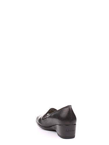 MELLUSO , Damen Mokassins, schwarz - schwarz - Größe: 37½