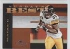 - Willie Parker #680/1,000 (Football Card) 2008 Donruss Classics - Sunday's Best #SB-8