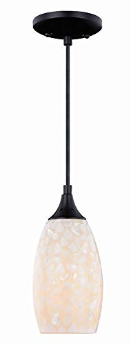 Vaxcel P0169 One Light Mini Pendant ()