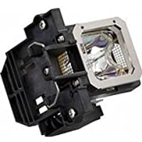 Replacement Lamp with Housing for RICOH PJ WX5140 with Osram P-VIP Bulb Inside