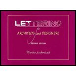 Lettering for Architects and Designers, Sutherland, Martha, 0442282141