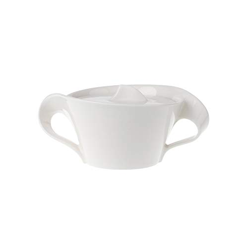 - Villeroy & Boch New Wave 8-3/4-Ounce Covered Sugar