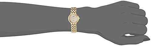 Seiko Women's Ladies Dress Japanese-Quartz Watch with Stainless-Steel Strap, Gold, 12 (Model: SUP352) 3
