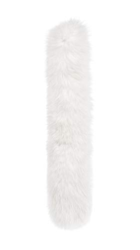 Bask 100% Natural Arctic Fox Fur Edge for Winter Jacket Coats Parka ()