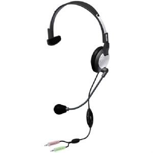 - Andrea C1-1022200-1 Model NC-181 VM High Fidelity On-Ear Monaural PC Headset, Proprietary Noise-canceling Microphone with Windsock, Pro-Flex Wire Microphone Boom, 40 mW Max. Input Power