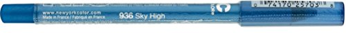 New York Color Waterproof Eyeliner Pencil, Sky High 936