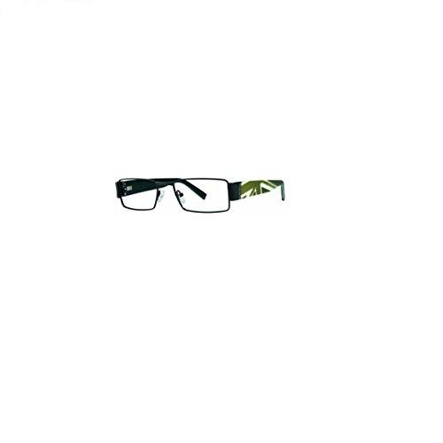 English Laundry Martin Rectangular Vintage Metal Frame Eyeglasses For Men & - Martin Eyeglass Martin Frames And