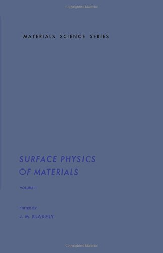 Read Online Surface Physics of Materials V2: Volume II (Volume 2) PDF