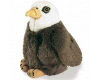 (Wild Republic Bald Eagle - Audubon Plush Bird (Authentic Bird)