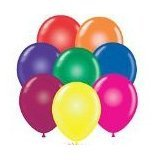24 Inch TUFTEX Crystal Assortment Latex Balloons (Premium Helium Quality) Pkg of 10