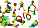 Childcraft Building Shapes Kit with Container (Set of 150)