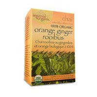 Uncle Lee's Imperial Organic Tea - Chai  With Orange Ginger Rooibos, 18-Count (Pack of 4)