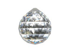 Strass Swarovski Lead Crystal - Swarovski Strass 30mm Crystal Feng Shui Ball Prism