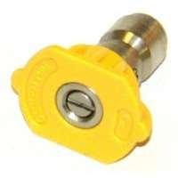 Mi-T-M Quick Connect Pressure Washer Nozzle 3 ' 4.0 Orifice 15 Deg Cw3004