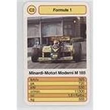 Minardi-Motori Moderni M 185 (Trading Card) 1986 Altenburg Stralsunder Spielkarten Formule 1 - [Base] #C2
