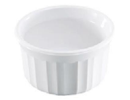 CorningWare 7 Ounce French White Ramekin