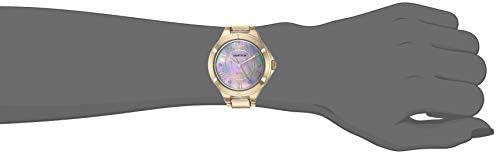 Armitron Women's 75/5624MPGP Gold-Tone Bracelet Watch