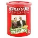 NEWMANS OWN ORGANIC RAISINS ORG CAN, 15 OZ, PK- 12